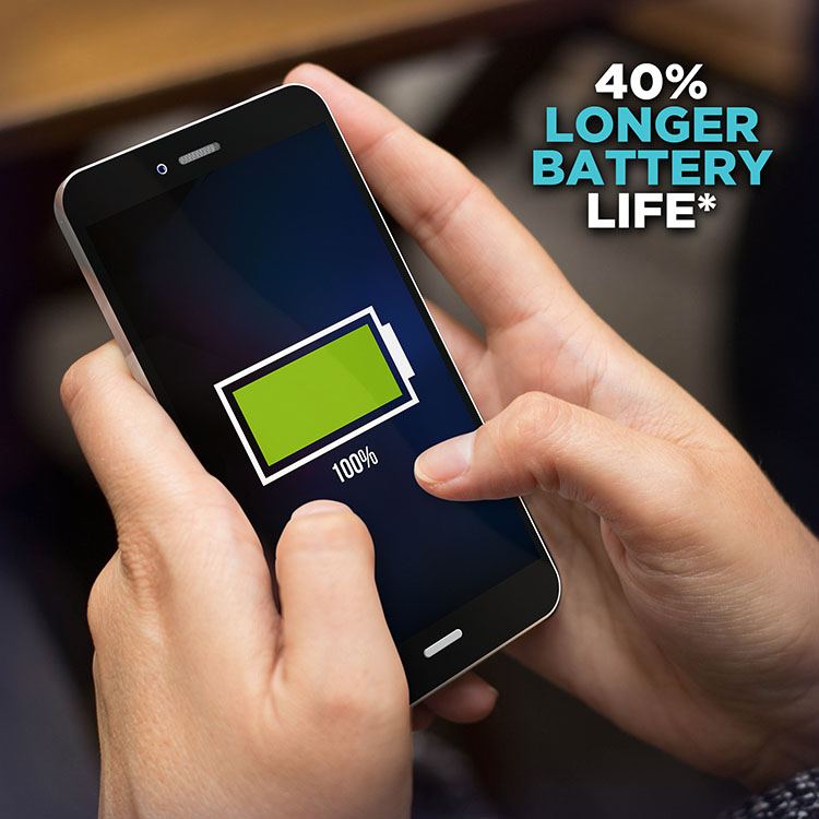 Extended Battery Life