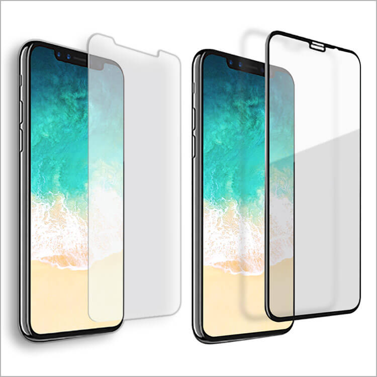 Ballistic Glass Screen Protector for the iPhone X