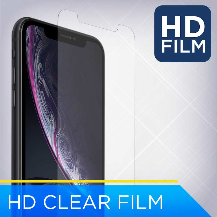 HD Clear Film Screen Protection for the iPhone Xr