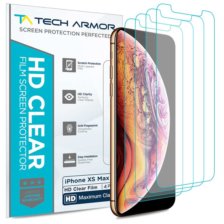 HD Clear Film Screen Protection for the iPhone XS Max