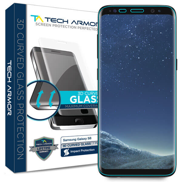 3D CURVED CASE FRIENDLY BALLISTIC GLASS